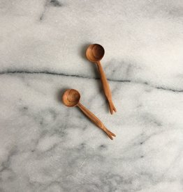Olive Wood Tiny Branch Spoon