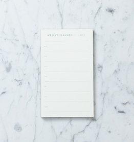 Kartotek Simple Danish Weekly Planner Pad - Blue - A4 - 8 x 12 in