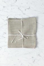 Lakeshore Linen Snack Napkin - Natural - 8 x 8 in.