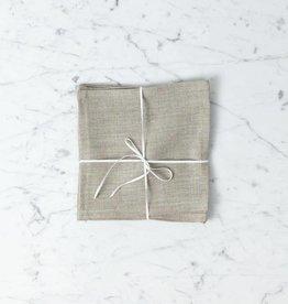 Lakeshore Linen Snack Napkin - Natural - 8 x 8 in.