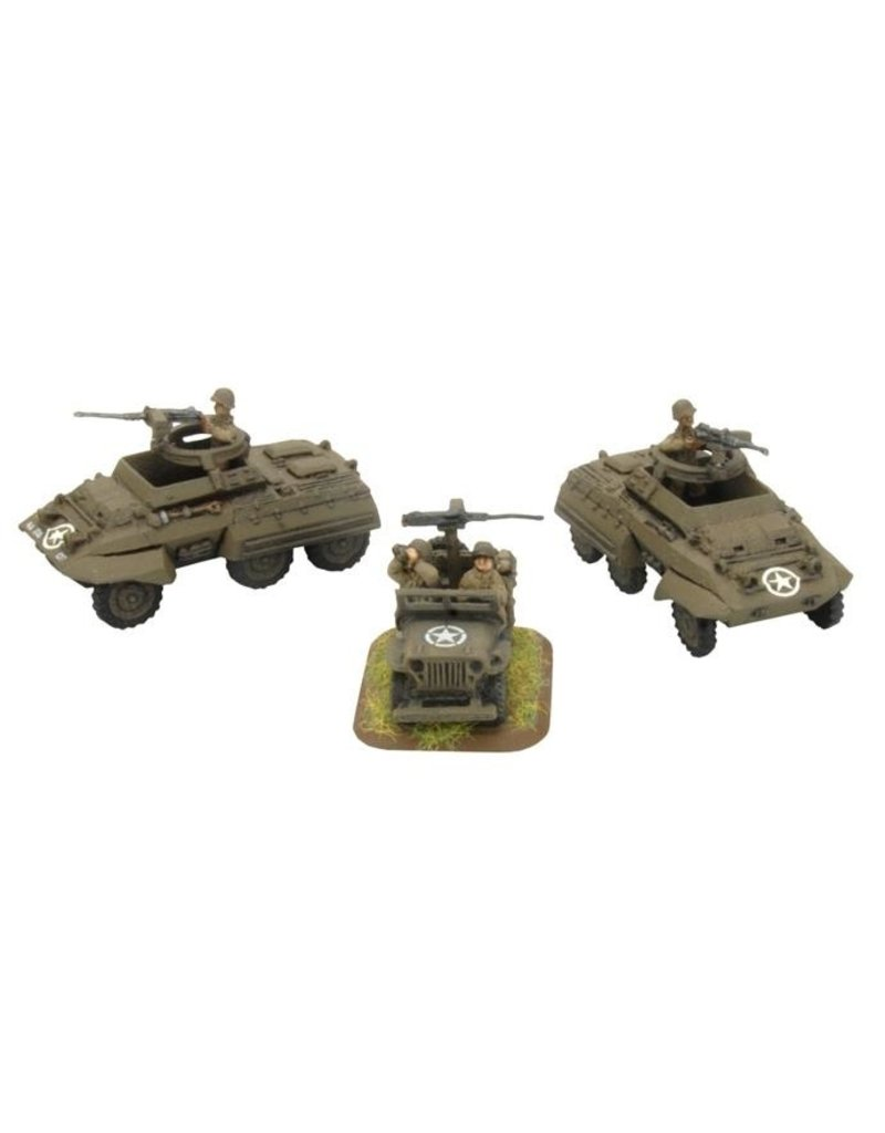 Flames of War US303 Tank Destroyer Security Section