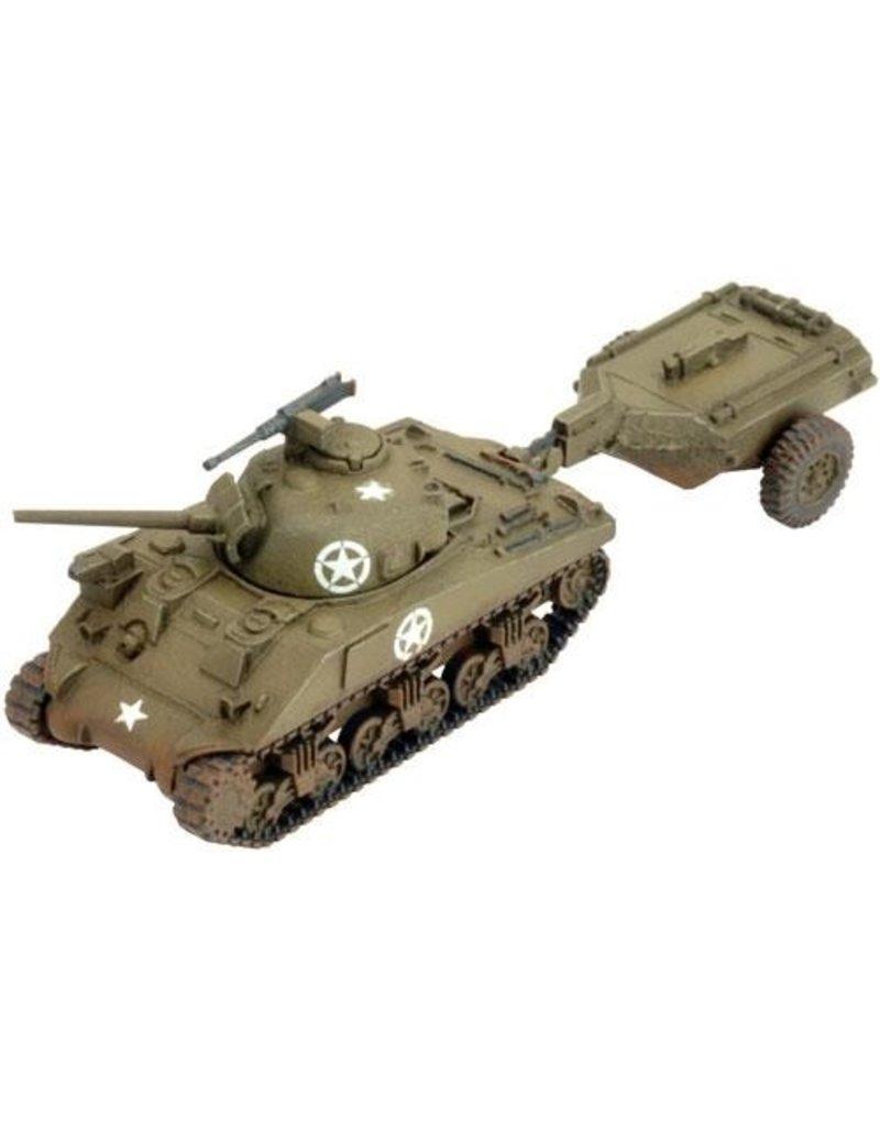 Flames of War US060 M4 Sherman Crocodile
