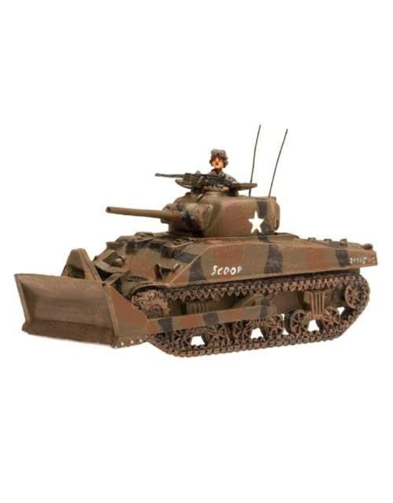 Flames of War US049 US M4 Sherman Dozer