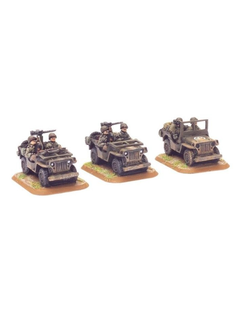 Flames of War US411 Jeep (x3)