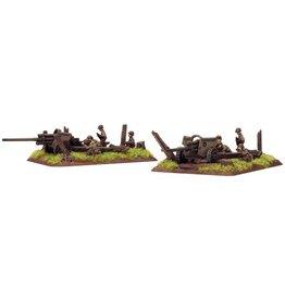 Flames of War US510 M5 3in gun (x2)