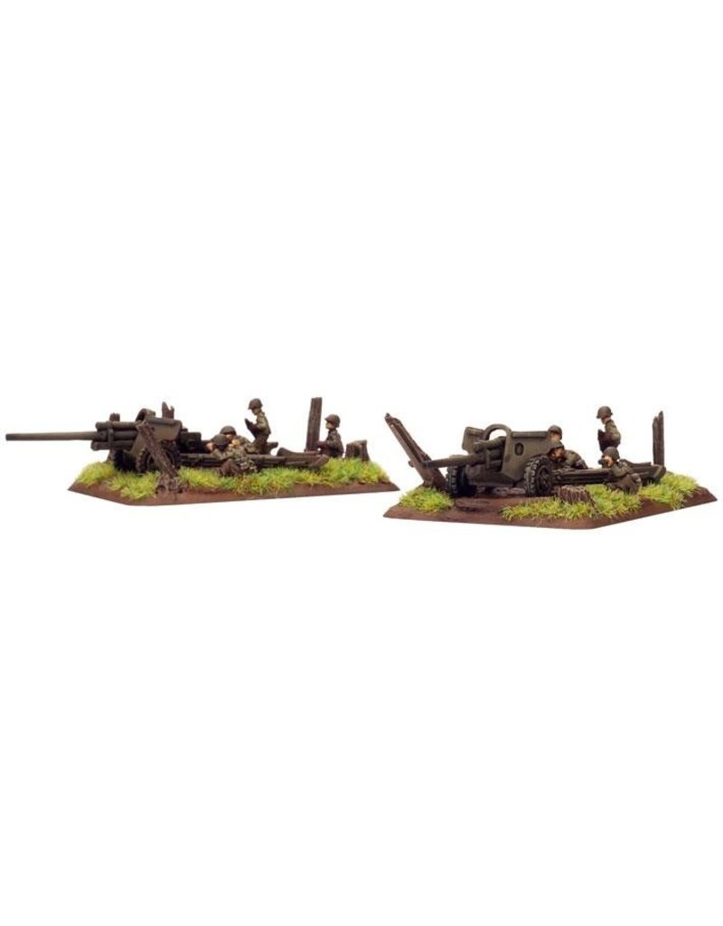 Flames of War US510 M5 3in gun (x2)
