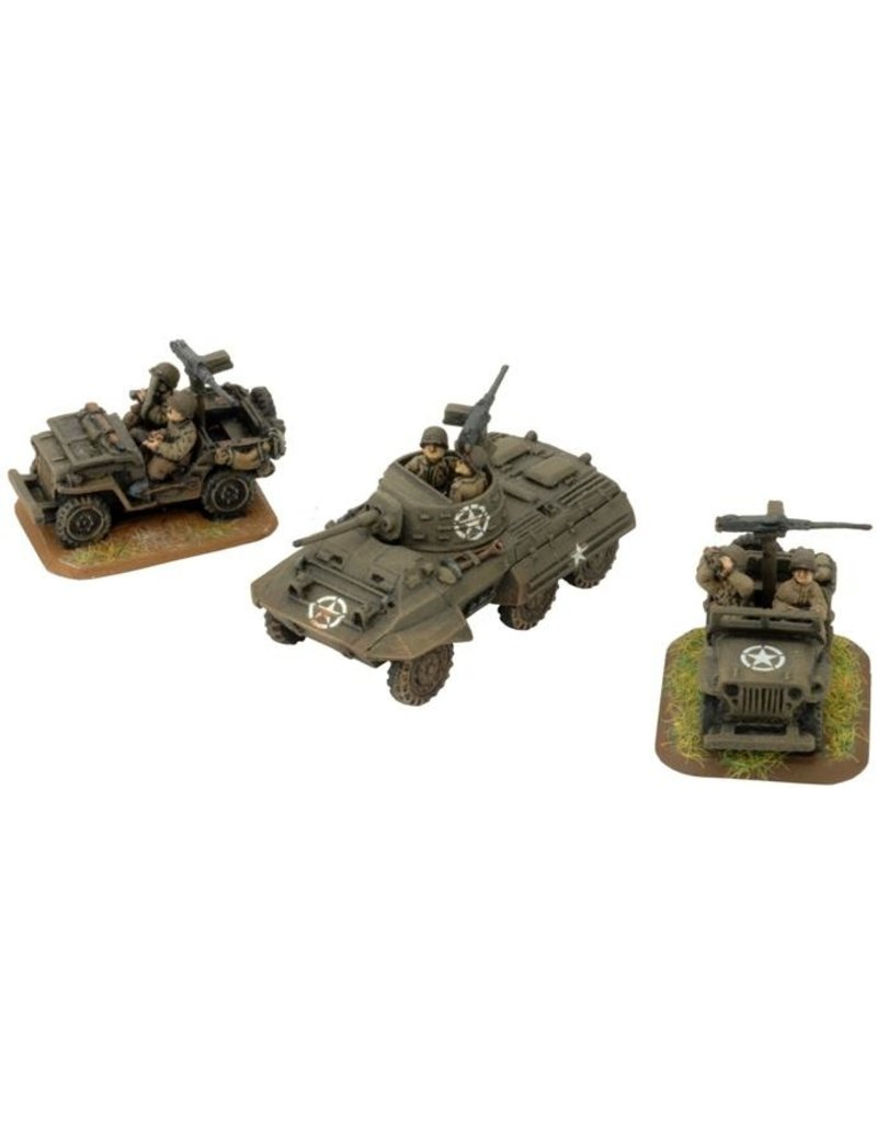 Flames of War US304 Cavalry Recon Platoon