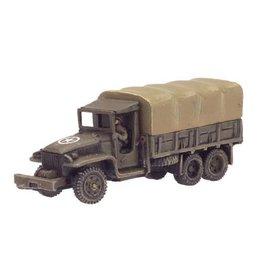 Flames of War US430 GMC 2_-ton truck (x2)