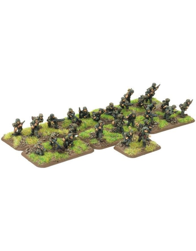 Flames of War GE723 German Panzergrenadier Platoon
