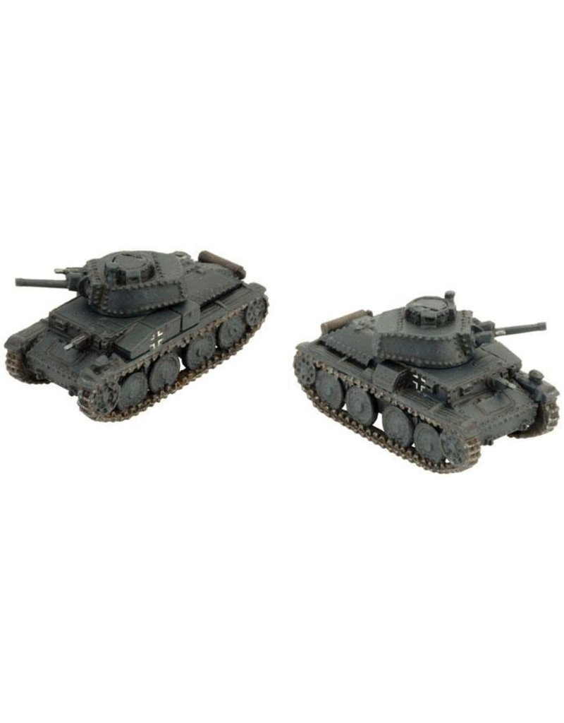 Flames of War GE023 Panzer 38(t) E/F (uparmoured)