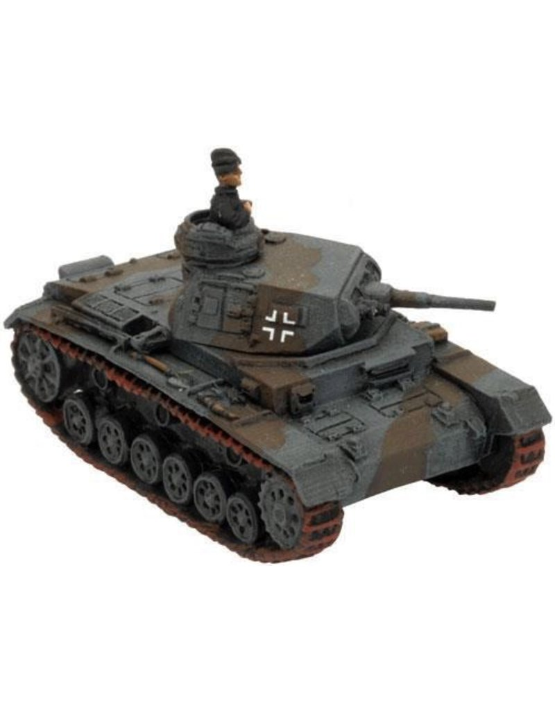 Flames of War GE030 German Panzer III E or F