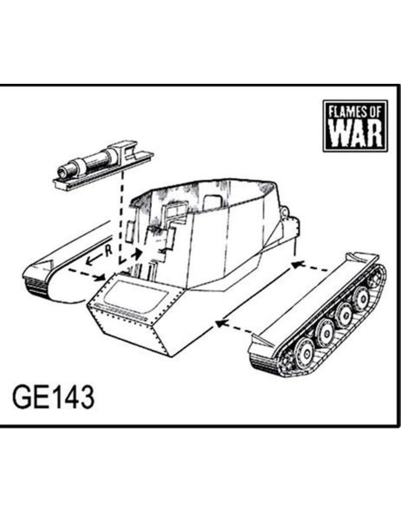 Flames of War GE143 German Grille H 15cm sIG