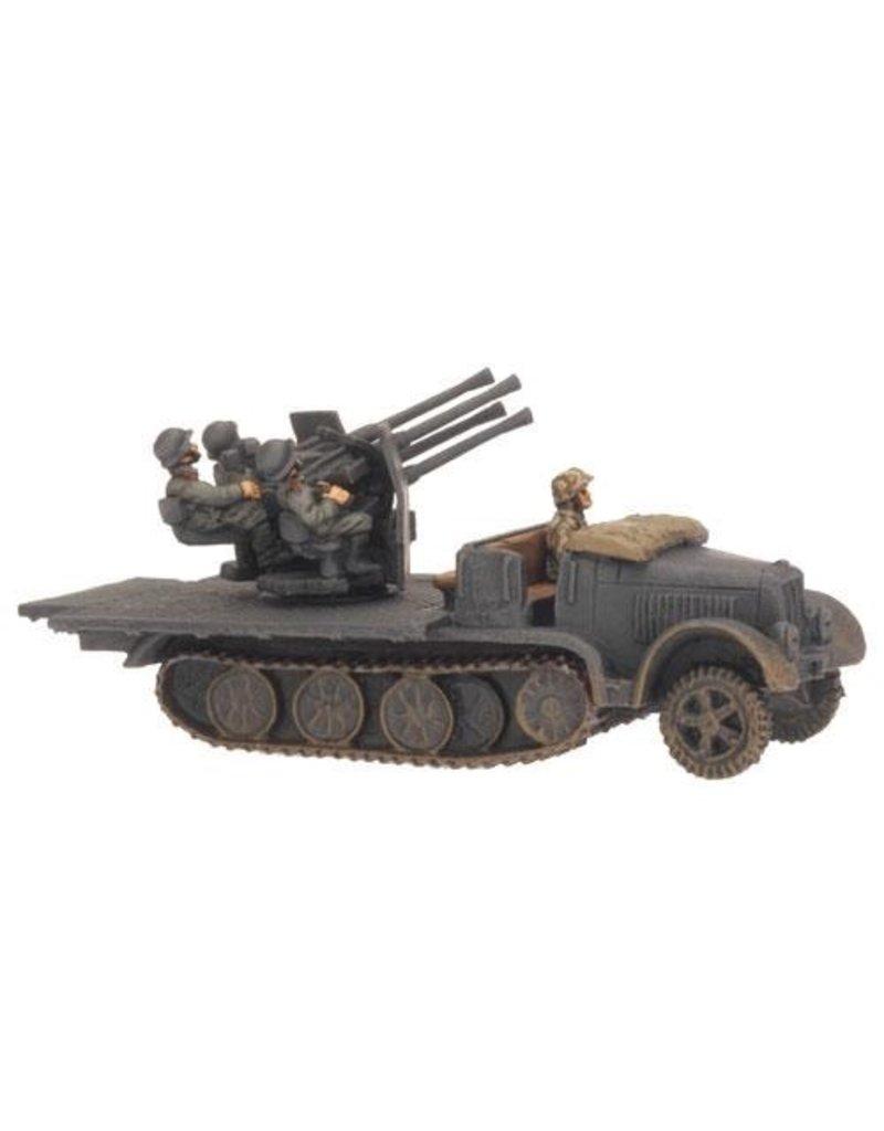 Flames of War GE166 German SdKfz 7/1 Quad 2cm