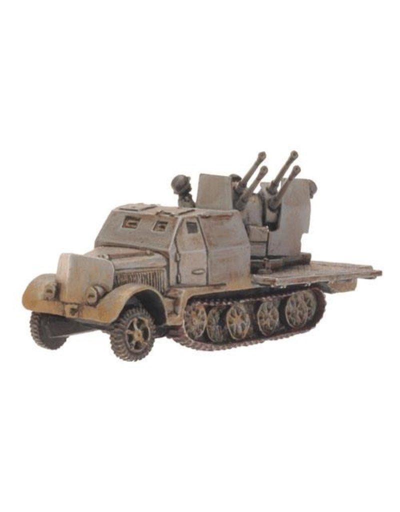 Flames of War GE168 German SdKfz 7/1 Quad 2cm