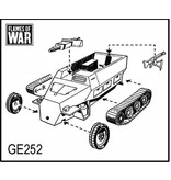 Flames of War GE252 German SdKfz 251/9C 7.5cm