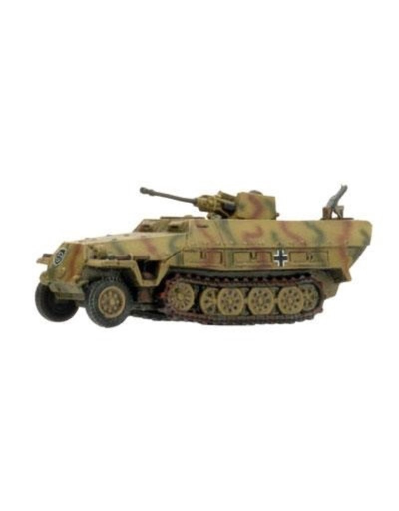 Flames of War GE259 German SdKfz 251/17d Cmd 2cm