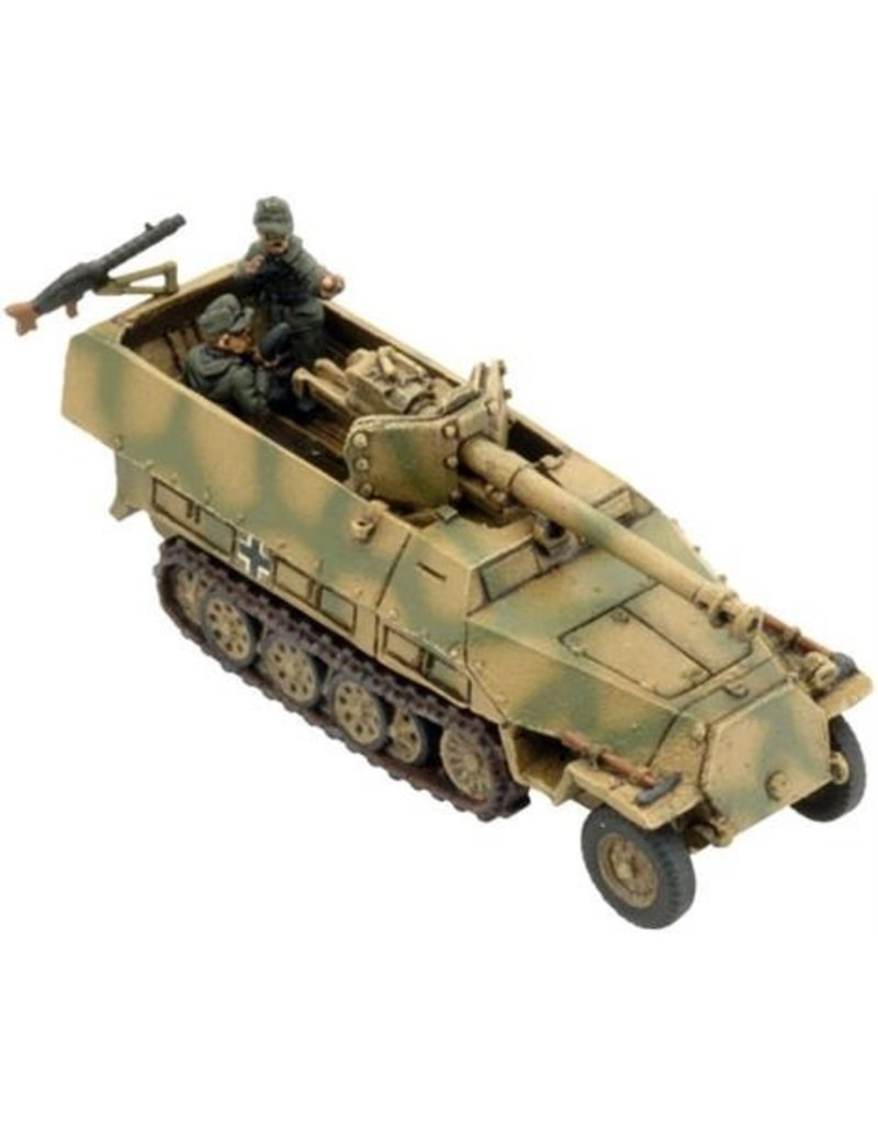 Flames of War GE263 Sd Kfz 251/22D (PaK 40), tank Hunter Platoon
