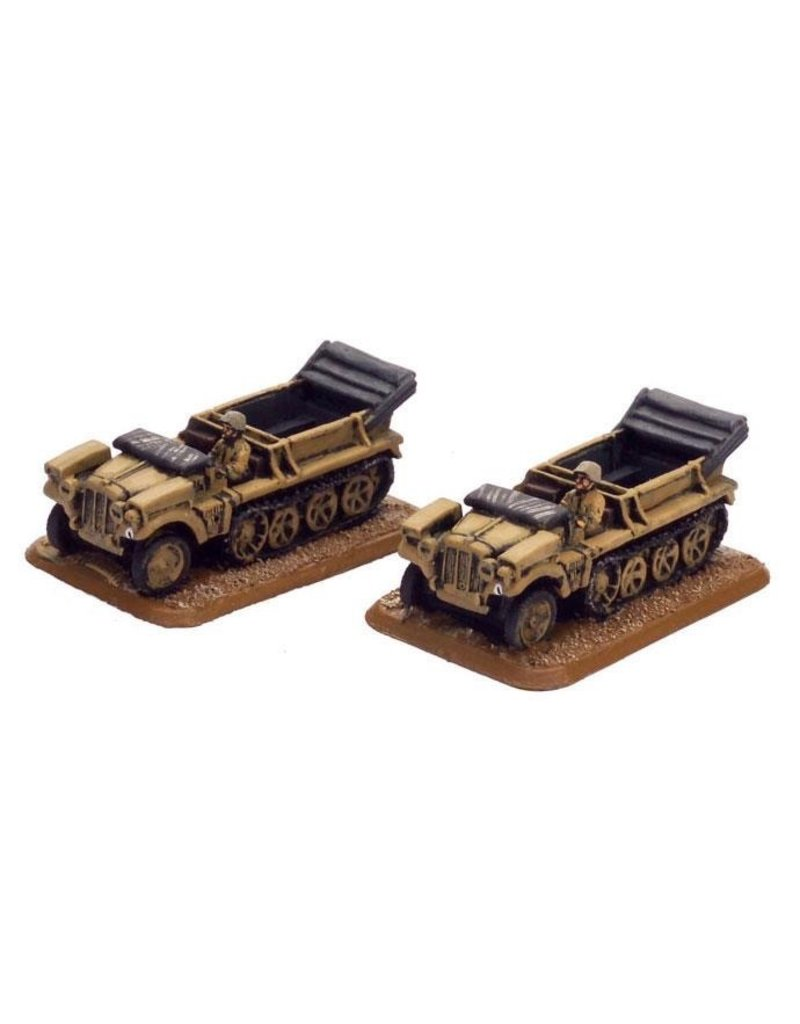 Flames of War GE273 German SdKfz 10 (1t) tractor