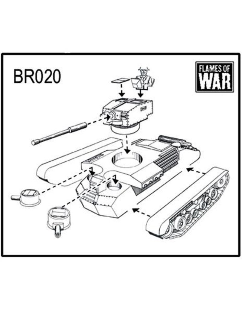 Flames of War BR020 A9 Cruiser Mk I