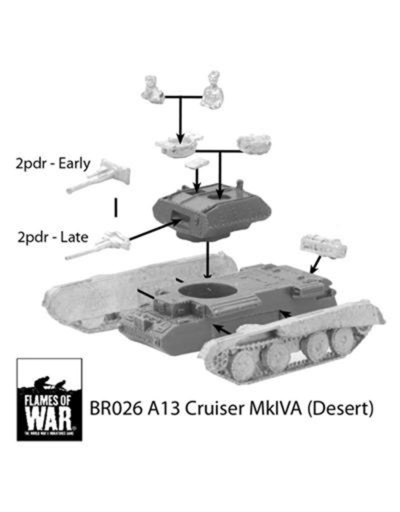 Flames of War BR026 A13 Cruiser Mk IVA (Desert)