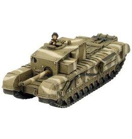 """Flames of War BR089 Churchill 3"""" Gun Carrier"""
