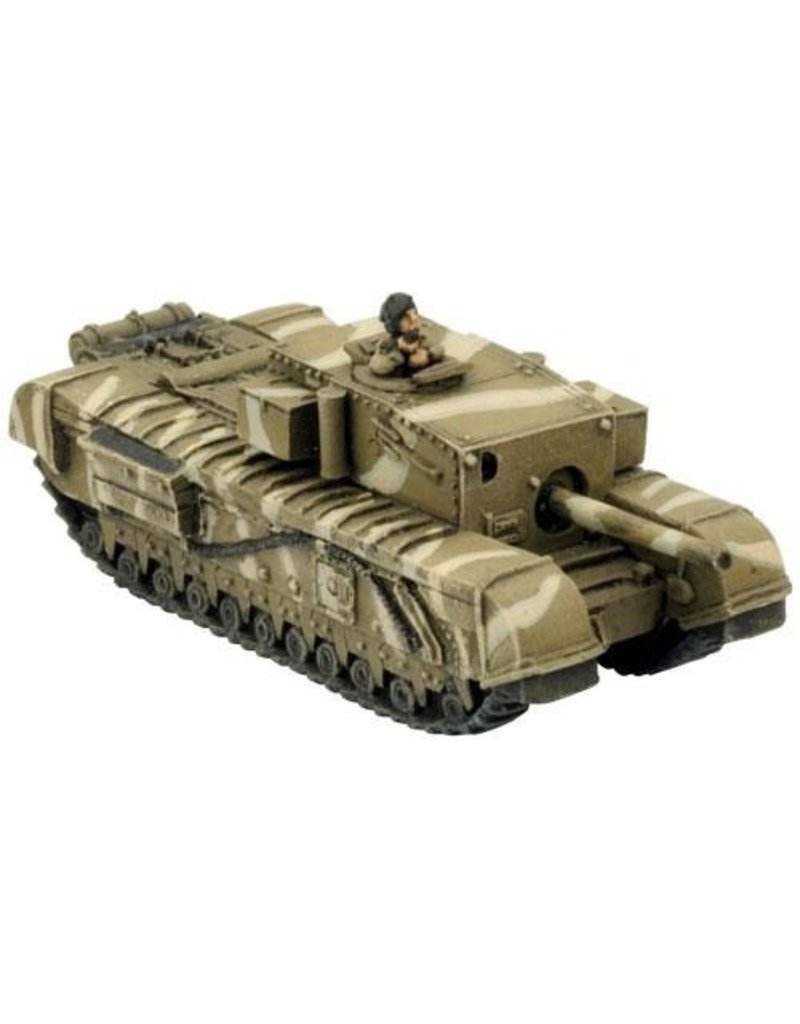"Flames of War BR089 Churchill 3"" Gun Carrier"