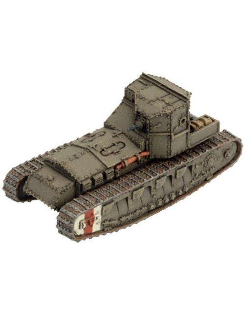 Flames of War GBR080 Mark A Whippet Tank