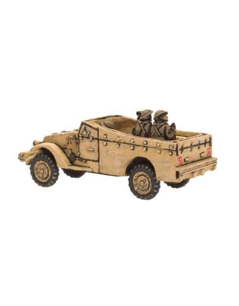 Flames of War BR200 White Scout Car
