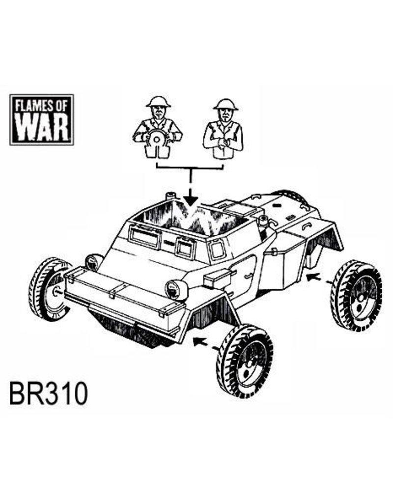 Flames of War BR310 Daimler Dingo (x3)