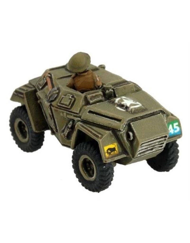 Flames of War BR320 Humber Scout Car (x2)