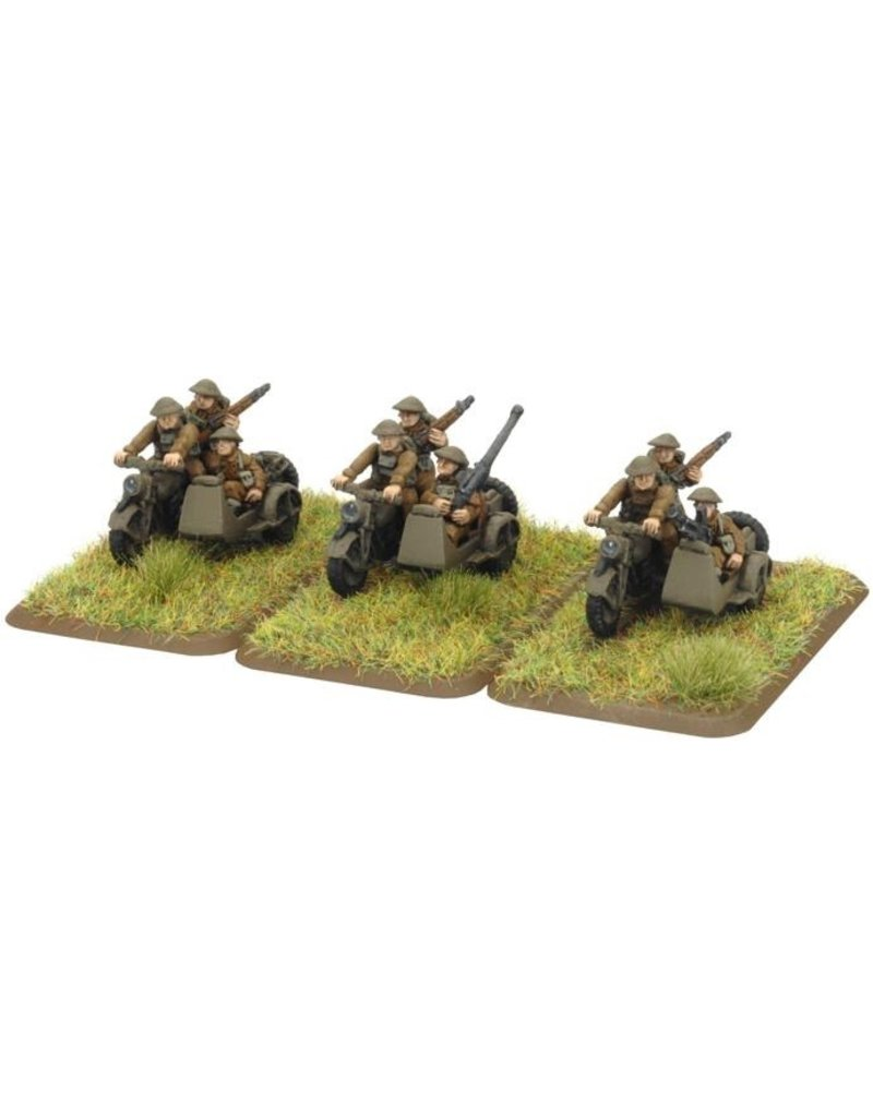 Flames of War BR400 Motorcycle Platoon
