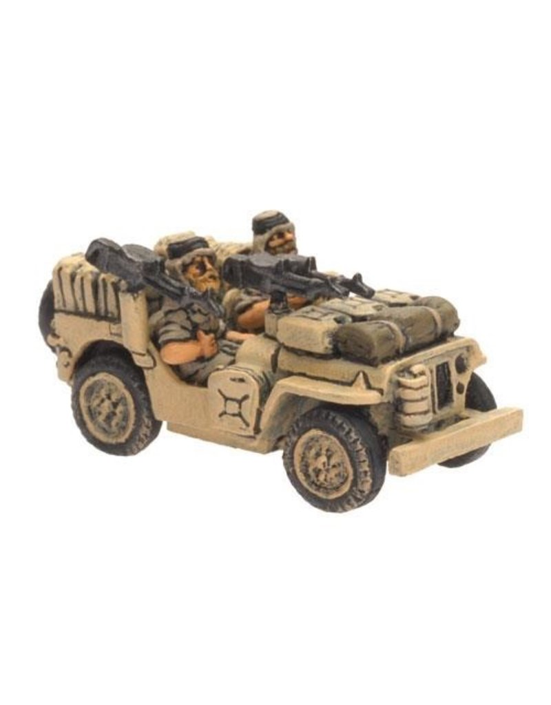 Flames of War BR412 LRDG/SAS Jeep