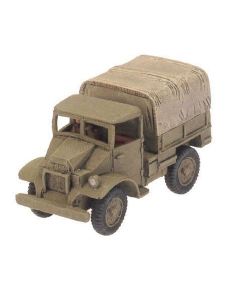 Flames of War BR431 CMP 15 cwt truck (x2)