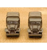 Flames of War BR432 CMP 15 cwt truck (x2)