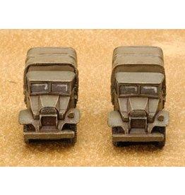 Flames of War BR432 CMP 15 cwt truck (x2)