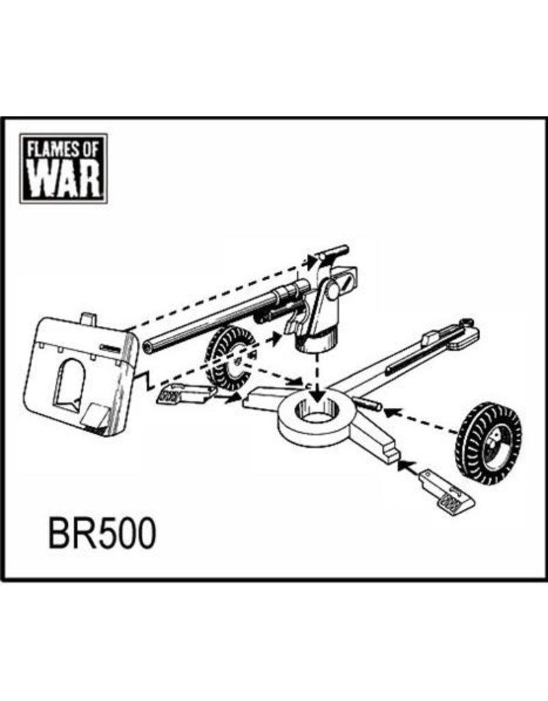 Flames of War BR500 2 pdr gun (8th Army)