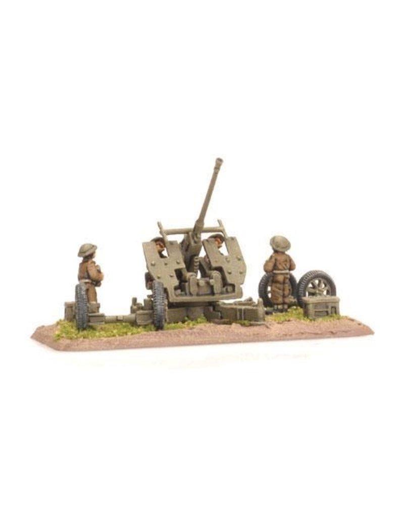 Flames of War BR540 Bofors 40mm gun (x2)