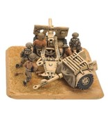 Flames of War BR574 25 pdr gun (x2) (8th Army)