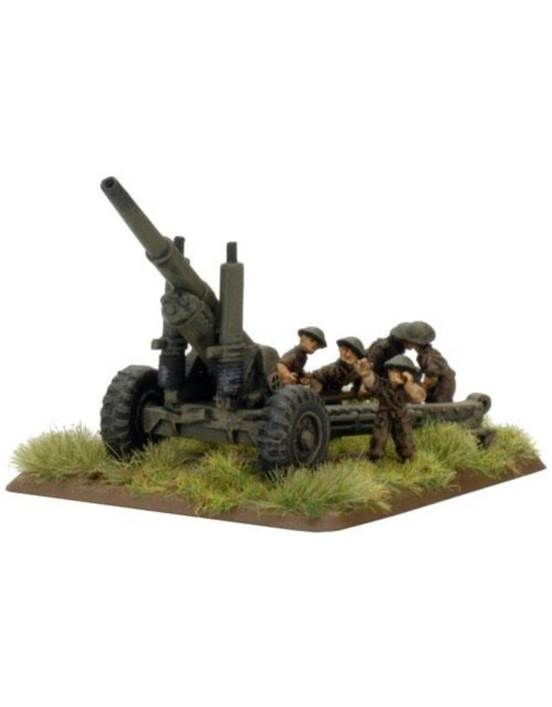 "Flames of War BR580 BL 5.5"" gun"