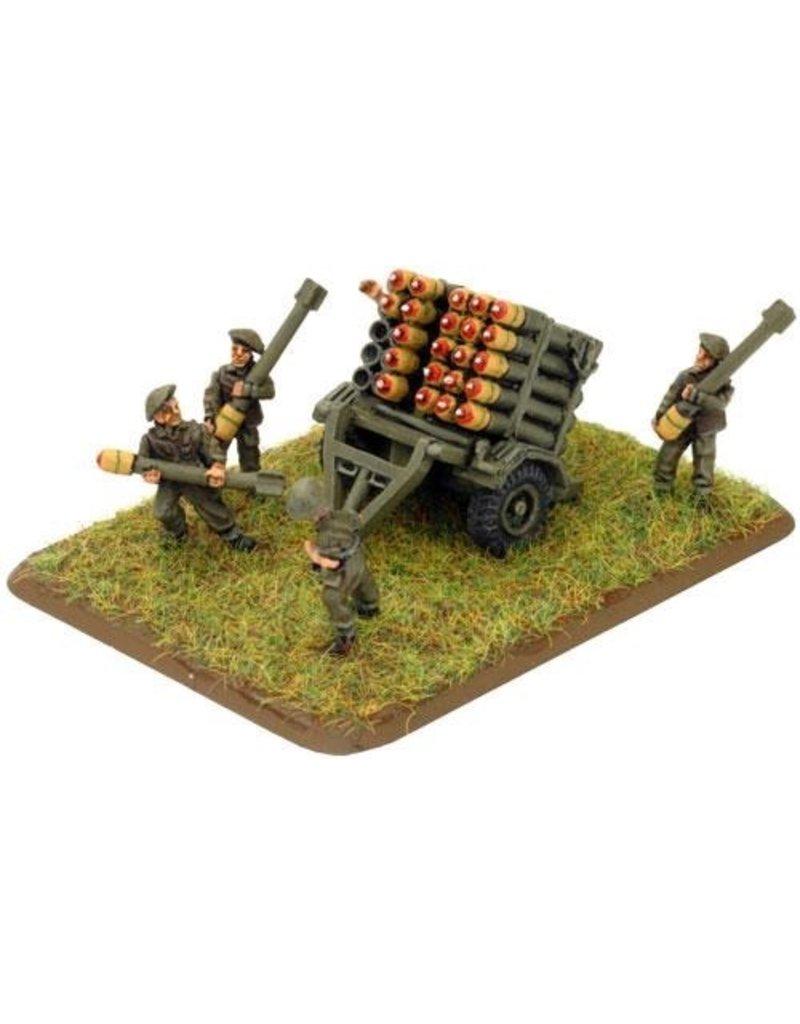 Flames of War BR590 Land Mattress Rocket Launcher