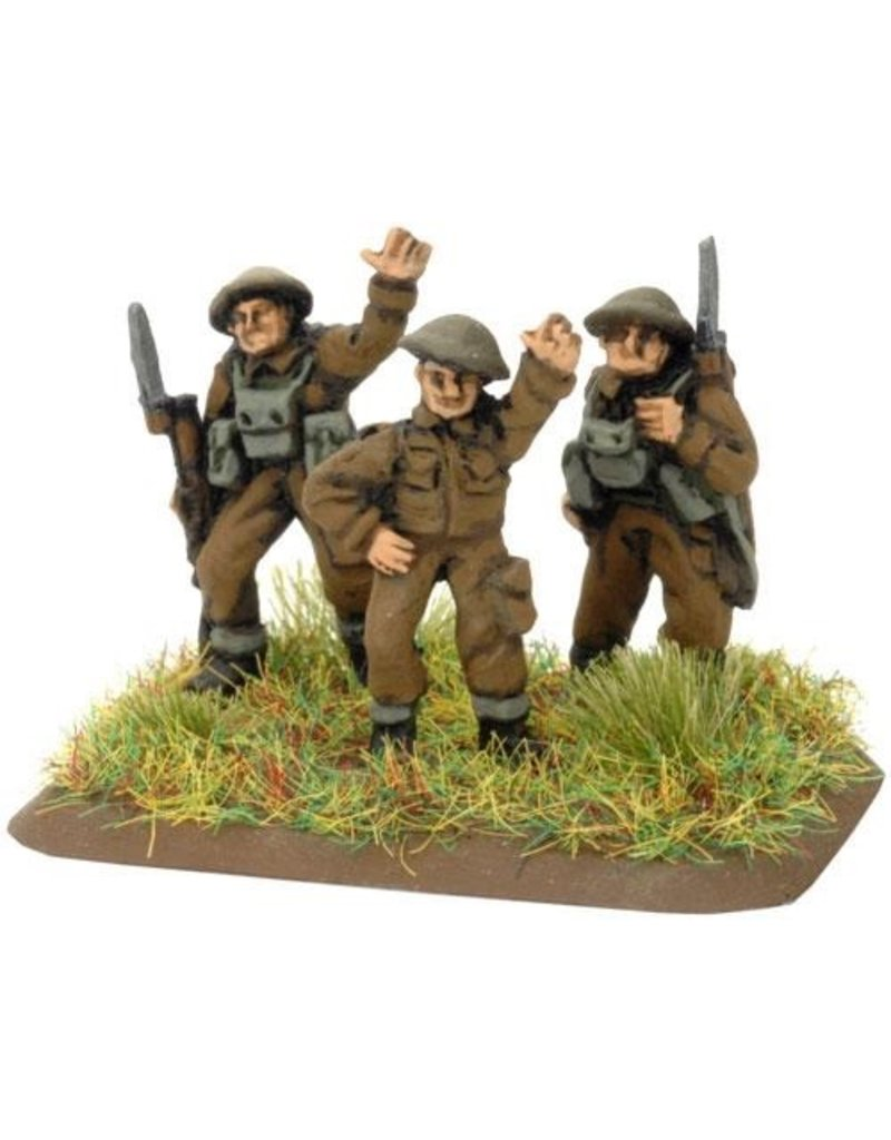 Flames of War BR704 BEF Machine-gun Platoon