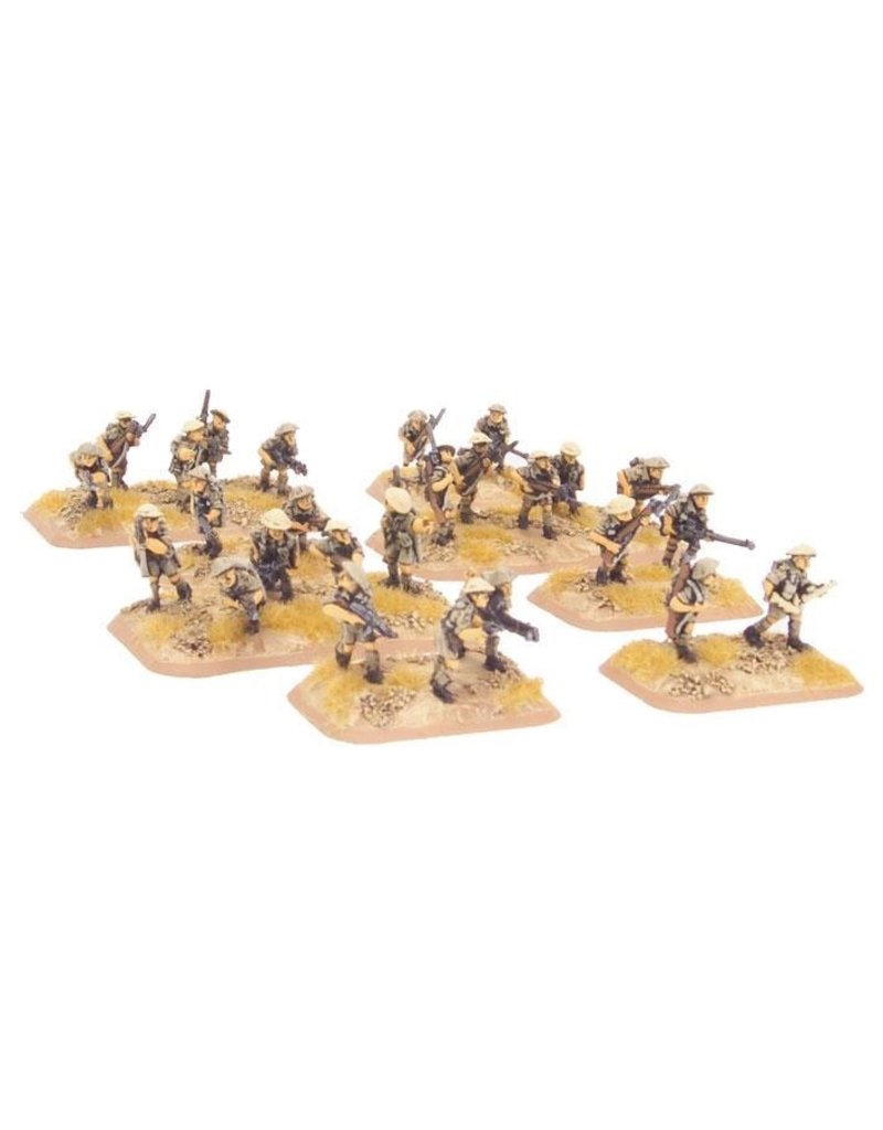 Flames of War BR743 Motor Platoon (8th Army)