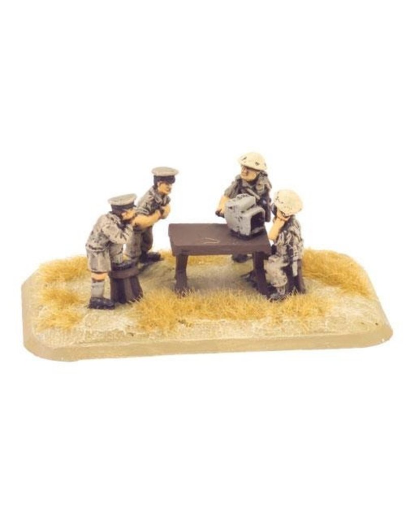 Flames of War BR749 Artillery HQ (8th Army)