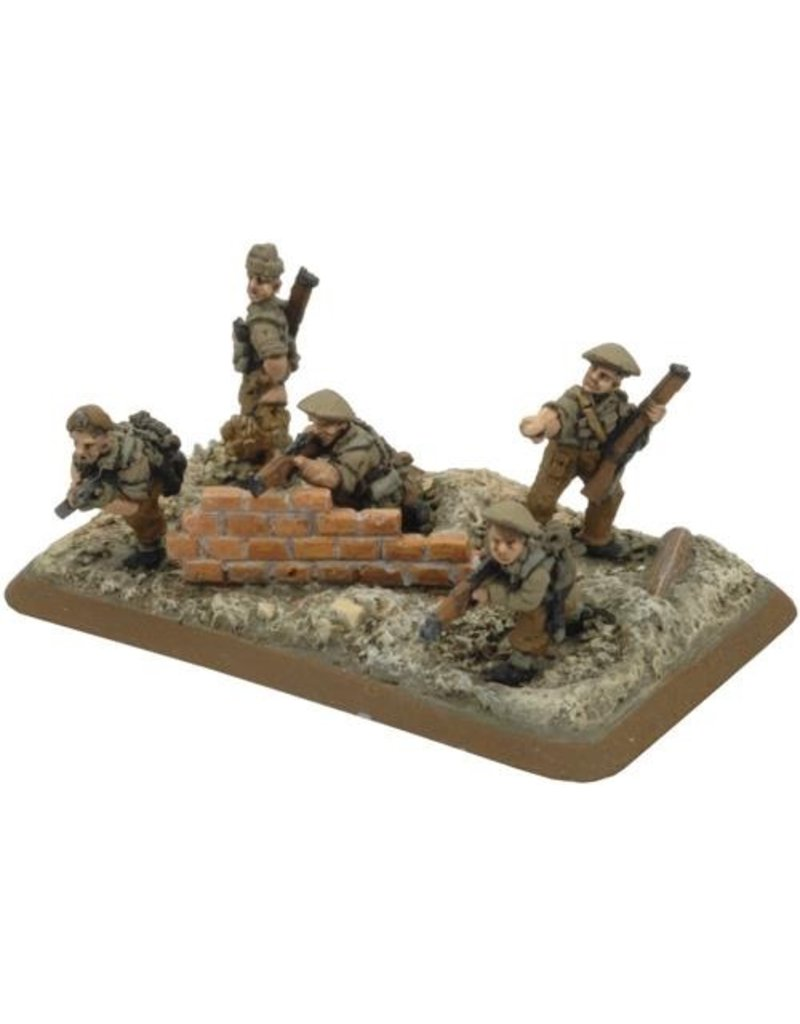 Flames of War BR768 Commonwealth Rifle Platoon