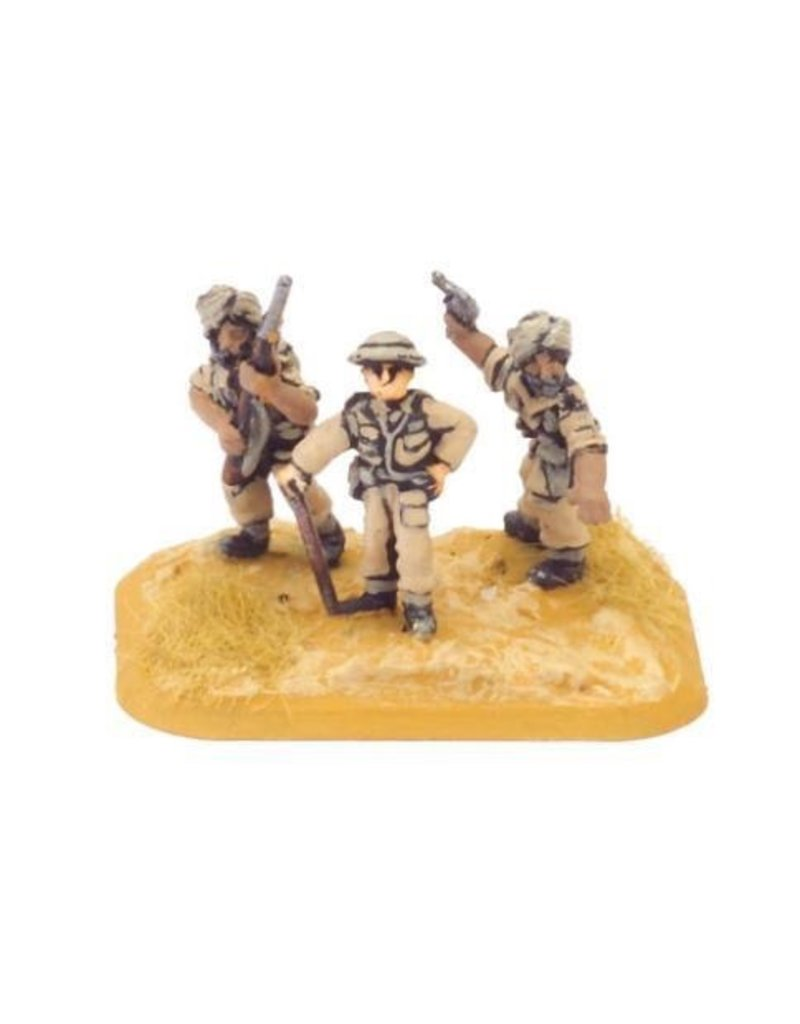 Flames of War BR781 Company HQ (Indian)