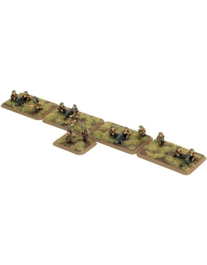 Flames of War GBR704 Machine-gun Platoon