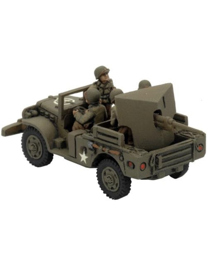 Flames of War US100 M6 37mm GMC
