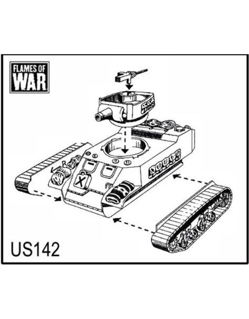 Flames of War US142 M8 Scott HMC