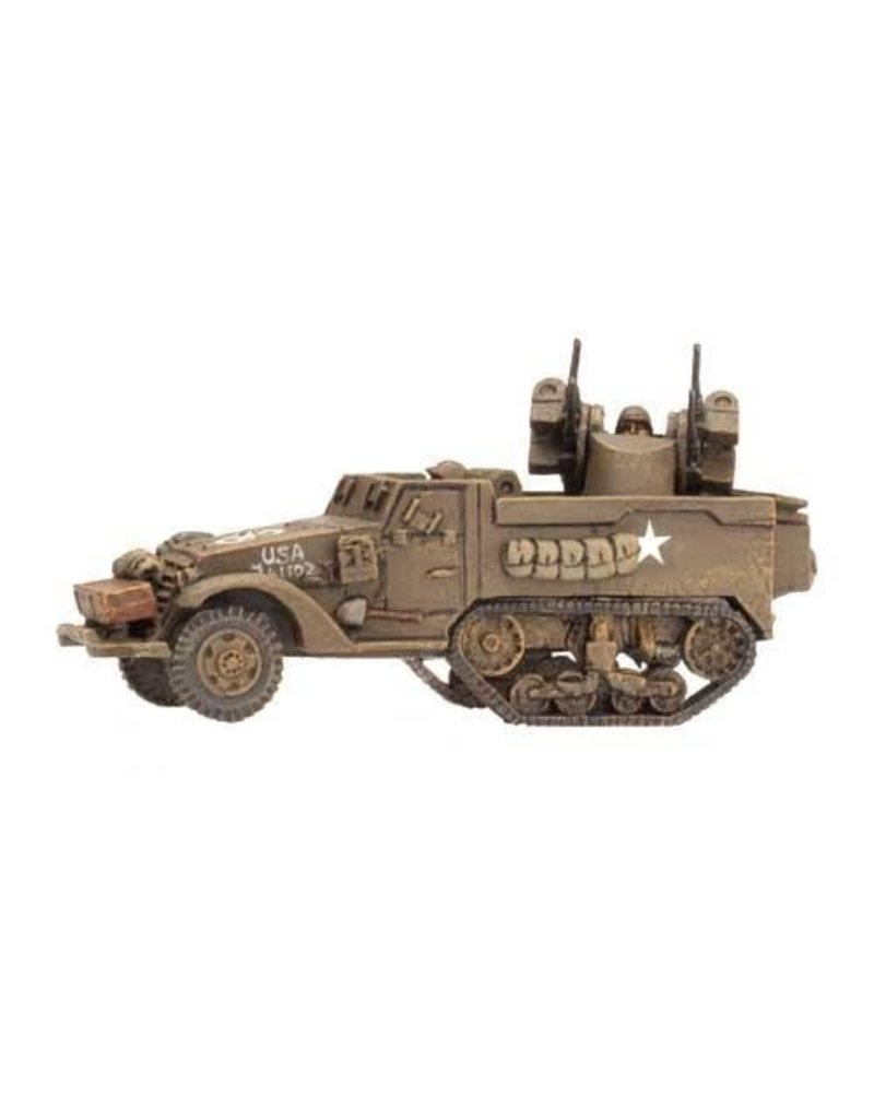 Flames of War US160 M13 MGMC (twin .50 cal)