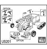 Flames of War US201 M3 half-track